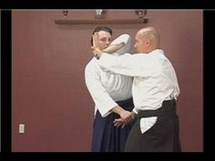 The Aikido Tekubi Tori Ikkyo wrist grab defense is a great martial art to defend against wrist grabs. Watch this free martial arts video and learn the simple. Aikido Martial Arts, Aikido Techniques, Parkour, Judo, Jiu Jitsu, Pose Reference, Kung Fu, Healthy Life, Knowledge