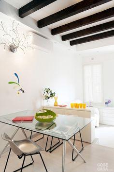 fiorentini-bilocalecorsocomo-pranzo Dining Bench, Design Inspiration, Furniture, Home Decor, Studio, Houses, Trendy Tree, Dining Room Bench, Decoration Home