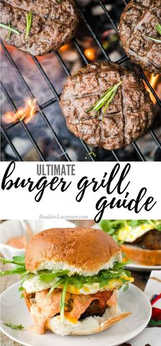Low Unwanted Fat Cooking For Weightloss Grill Burgers Like A Pro With This Easy Guide. Simple Tips Will Change Your Burger Grilling Game Forever Grilled Burger Recipes, Grilling Recipes, Beef Recipes, Grilling Tips, Beef Meals, Healthy Grilling, Sandwich Recipes, Healthy Food, Bratwurst