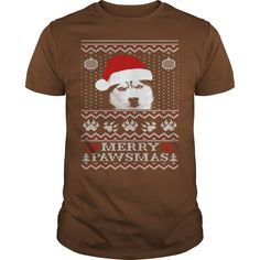 MERRY PAWSMAS FOR HUSKY LOVERS Tshirt and sweater ,Make someone happy with the gift of a lifetime,this includes back to school,thanksgiving,birthdays,graduation,Christmas,Halloween costumes,first day,last day,and any special celebrations. For womens,