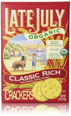 Late July Organic Crackers, Classic Rich, 6 Oz - http://goodvibeorganics.com/late-july-organic-crackers-classic-rich-6-oz/