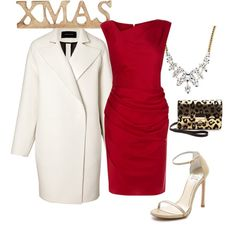 """Christmas Party"" by m-isa-bell on Polyvore"