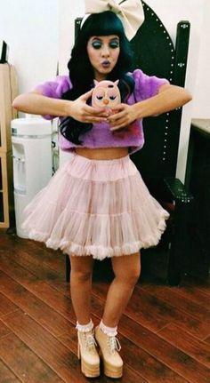 8b8112437e Spott - Melanie Martinez dressed in a pink Chiffon Layer Pink Petticoat  Skirt by Chicwish