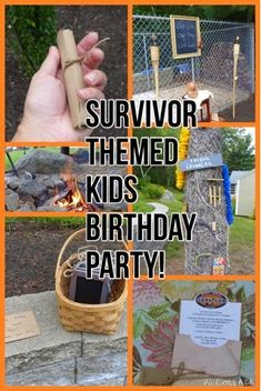 Mommy Dreaming...: Survivor Themed Birthday Party