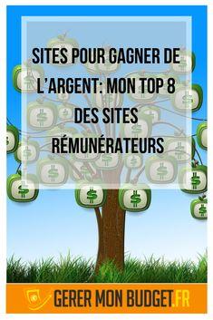 Sites pour gagner de l'argent: mon top 8 des sites rémunérateurs