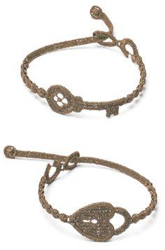 Cruciani Chiave e Lucchetto Bracelet in chanel