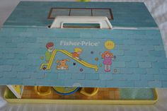 Vintage Fisher Price Little People Nursery School Vintage Children's Books, Vintage Toys, Vintage Stuff, Fisher Price Toys, Vintage Fisher Price, My Childhood Memories, Childhood Toys, Nursery School, Classic Toys