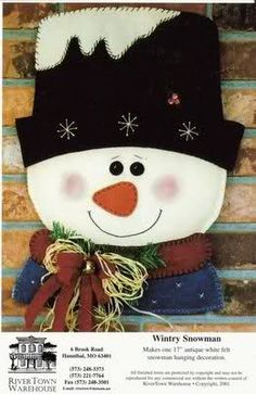 Snowman 6, Christmas Snowman, Christmas Time, Christmas Stockings, Christmas Ornaments, Stained Glass Patterns, Christmas Decorations, Holiday Decor, Sewing Patterns