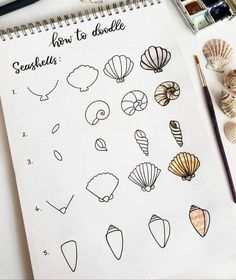 THE BEST step by step doodles for your bullet journal! These how-to draw pictures are game changers for me and my bullet journal. I'm so glad I found these GREAT bullet journal how to doodle pictures! Bullet Journal Banner, Bullet Journal Notes, Bullet Journal Aesthetic, Bullet Journal Notebook, Bullet Journal Ideas Pages, Bullet Journal Inspiration, Doodle Inspiration, Doodle Art For Beginners, Easy Doodle Art