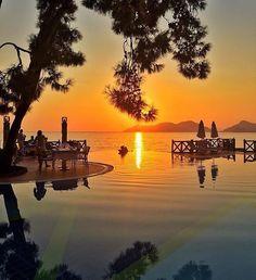 Seeyou Turkey - Google+#ölüdeniz #muğla amazing sunset