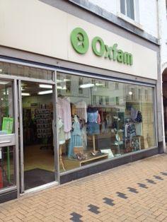 Oxfam's Huddersfield shop