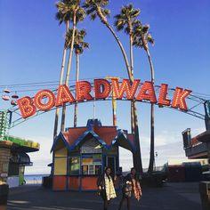 Santa Cruz CA: It's a boardwalk so we walk in our pictures? by laurenkobay