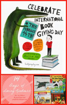 Celebrating International Book Giving Day and Sharing Book Love from The Kid's Co-Op