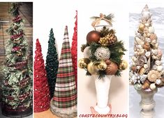 DIY Christmas Trees for every space & style 🎄 Diy Christmas Tree, Christmas Wreaths, Decor Styles, Make It Yourself, Space, Create, Holiday Decor, Home Decor, Floor Space