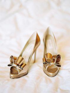 e8a0ea8952d0 Elegant Destination Vail Wedding. Gold Wedding ShoesDesigner ...