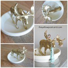DIY: Animal Jewelry Holder and Dish