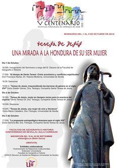 Teresa de Jesús: una mirada a la hondura de su ser mujer #STJ500 #SantaTeresaAvila