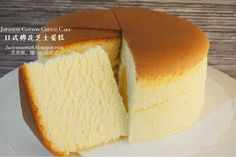杰克琳。珊 小小厨房记: 日式棉花日式棉花芝士蛋糕 Japanese Cotton Cheese Cake