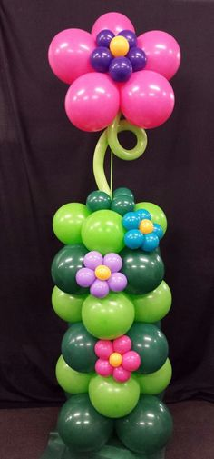 Flower Balloon Column                                                                                                                                                                                 More