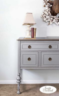 Perfect Gray Buffet Eight Hundred Furniture painted furniture repurposed furniture furniture makeovers diy furniture furniture restoration antiques home decor and Annie Sloan Painted Furniture, Painting Wooden Furniture, Grey Furniture, Rustic Furniture, Furniture Decor, Living Room Furniture, Furniture Movers, Furniture Logo, Outdoor Furniture