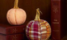 Crafts n' things Weekly - plaid pumpkins