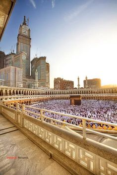 Photo: #اللَّهمَّےﷺصَلِّﷺعَلَىﷺمُحمَّــــــــدٍﷺوآلﷺِمُحَمَّد   Allah , send prayers and blessings upon our prophet Muhammad.  BREATHTAKING SHOT OF MECCA ABRAJ AL-BAIT CLOCK, TOWER,SAUDI ARABI It is the third tallest building in the world Makkah Royal Clock Tower Hotel, is a government-owned mega-tall building complex in Mecca, Saudi Arabia. These towers are a part of the King Abdulaziz Endowment Project that strives to modernize the city in catering to its pilgrims. The central hot...
