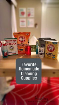 Homemade cleaning products are a great solution to save money and a trip to the store. The smell is not as strong as well.