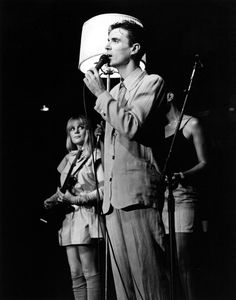 I fell in love with this awesome band after watching Stop Making Sense in my honors class. Their definitely an interesting bunch. c:  Talking Heads
