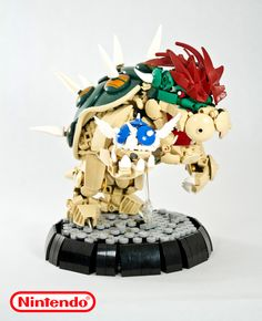 https://flic.kr/p/M1bMTj | King Bowser | This king of the koopas reigns with an…