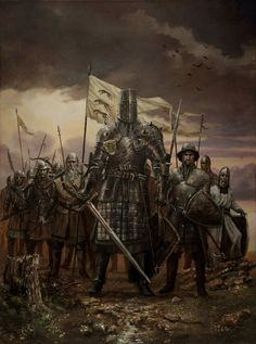 Character Visualization of Ser Gregor Clegane. Game of Thrones. A Song of Ice and Fire.