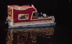 christmas lights boat parade parade floats boat lights boat decor coastal christmas