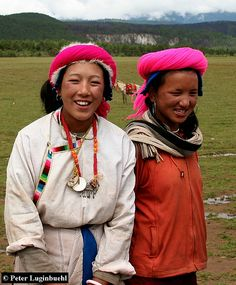 Khampa Girls Tibet