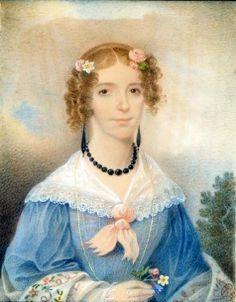 Mary Theodora Ford, by Charles Fraser