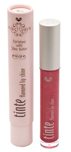 TINte Cosmetics Mynt Kiss Flavored Lip Shine is a Peppermint Flavored Lip Gloss. Enriched with shea butter, best lip gloss for chapped lips #flavoredlipgloss #sheabutter