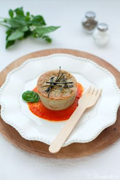 Sformatini di Melanzane con Salsina Fresca al Pomodoro - Fior di Frolla