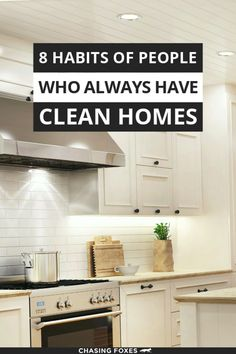 Check out these house cleaning tips so that you can learn how to have a clean house all the time! These cleaning hacks tips and tricks are great for the home! #ChasingFoxes #CleanHouse #CleanHome