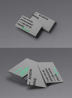2208 best brand business cards images on pinterest business card personal business card by kristina nikaj reheart Image collections