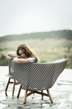 MBRACE Garden armchair Mbrace Collection by Dedon design Sebastian Herkner