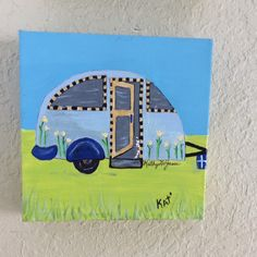 A personal favorite from my Etsy shop https://www.etsy.com/listing/479105865/original-blue-cool-camper-6x6-x1-deep