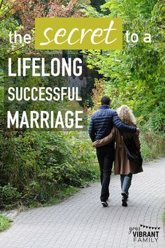 """In a few weeks, my husband and I will have been happily married for fifteen years.  Which has got me thinking--What is the secret behind a lifelong successful marriage?  Not that we have a perfect marriage or have it all figured out, but after fifteen years, I've been asking myself, """"Why do we have a good marriage?"""" What's been working? And what can we change to make it even better?  I think it all boils down to two words. Read this... would you agree?"""