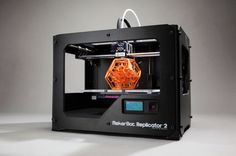 MakerBot Replicator 2, MakerBot, Replicator, 3D printer, 3D printing, desktop 3D printer