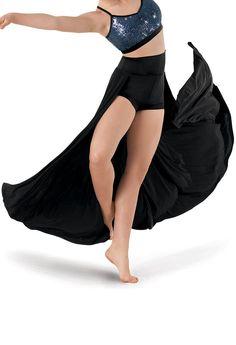 Back Panel High-Waist Shorts | Balera™