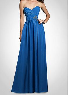 bridesmaid dress in either teal or emerald green or maybe red...