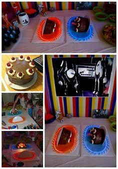 Drake's Birthday, 13th Birthday Parties, Birthday Ideas, Birthday Cakes, Portal Cake, Portal 2, Video Game Party, Party Games, Video Games