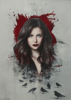 Katherine - the-vampire-diaries-tv-show fan art damon salvatore, Vampire Diaries Stefan, Vampire Diaries Poster, Vampire Diaries Wallpaper, Vampire Diaries Seasons, Vampire Diaries Quotes, Vampire Diaries Cast, Vampire Diaries The Originals, Joseph Morgan, Tyler Joseph