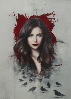 Katherine - the-vampire-diaries-tv-show Fan Art