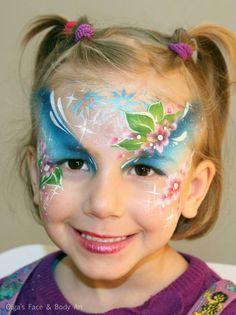 Olga Meleca girls face painting