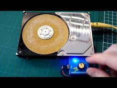 Hard Drive Sander: 5 Steps (with Pictures)