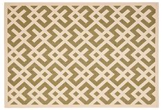 Outdoor rug I would like to put on the deck outside my French Doors.