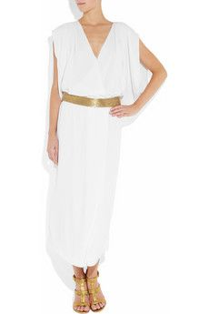 Diane von Furstenberg  Juliette belted crepe wrap-effect dress
